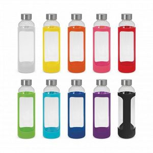 Venus Glass Drink Bottle with Silicone Sleeve