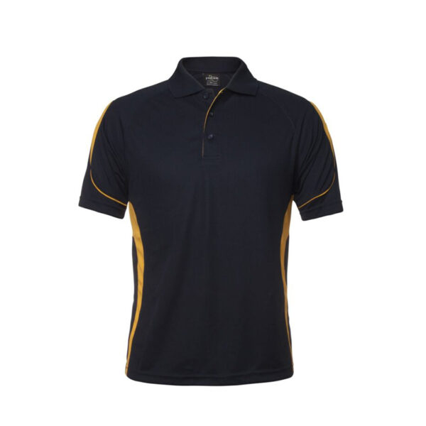 Bell Polo - Navy/Gold
