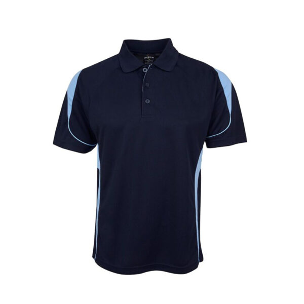 Bell Polo - Navy/Light Blue