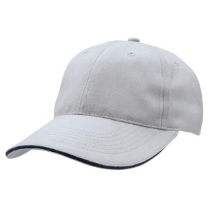 Basic Two Tone Cap - Silver/Navy