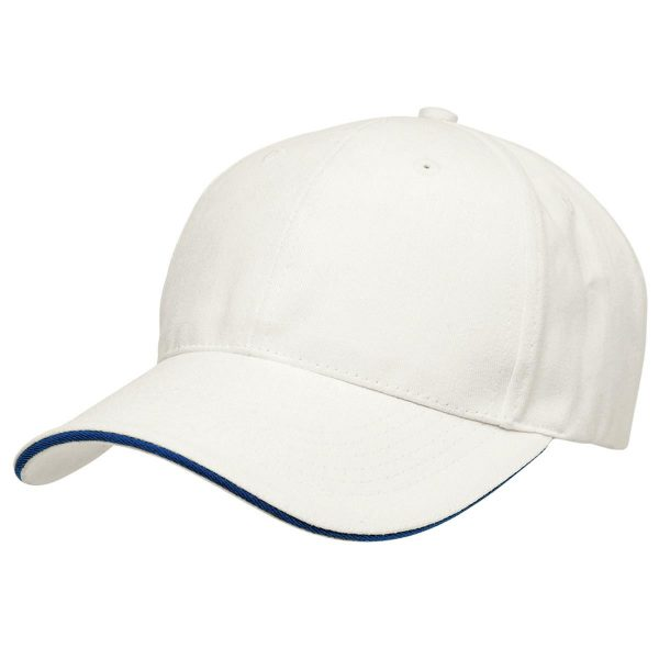Basic Two Tone Cap - White/Blue