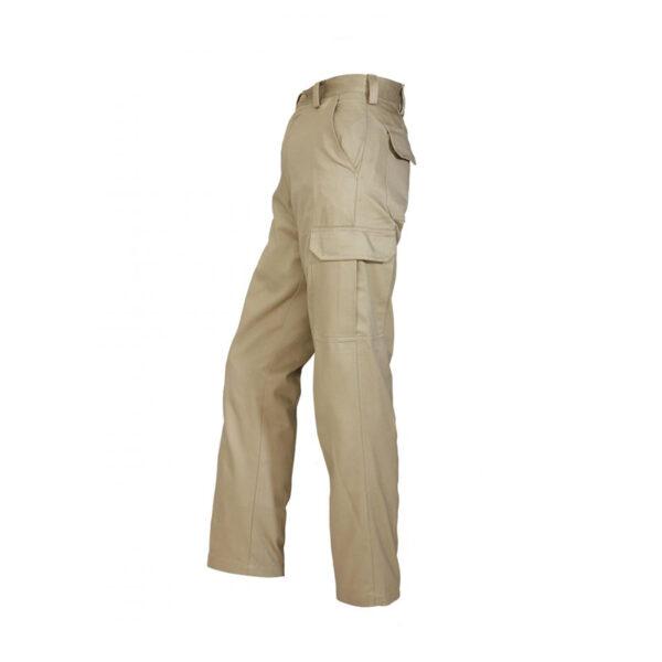 Cargo Trouser Side - Khaki