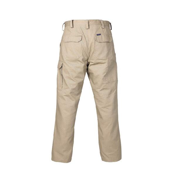 Cargo Trouser - Back Khaki
