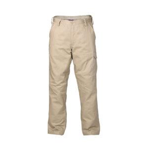 Cargo Trouser - Front Khaki