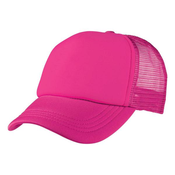 Foam Mesh Trucker Cap - Pink