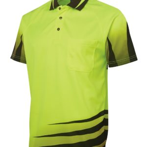 Rippa Sub Hi Vis Polo - Yellow