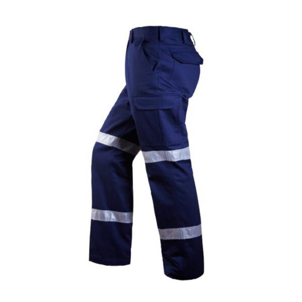 Taped Cargo Trouser - Navy