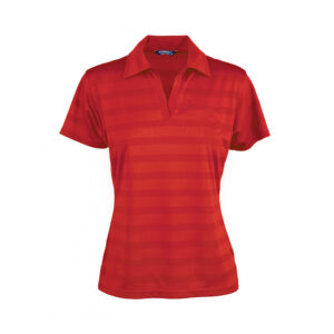 Ladies Ice Cool Polo - Red