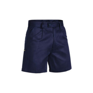 Bisley Drill Work Short - Navy