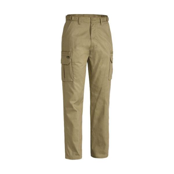 Bisley 8 Pocket Cargo Pant - Khaki