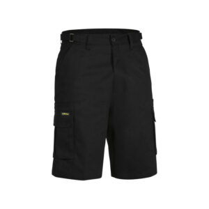Bisley 8 Pocket Cargo Short - Black