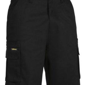 Bisley 8 Pocket Cargo Short - Black