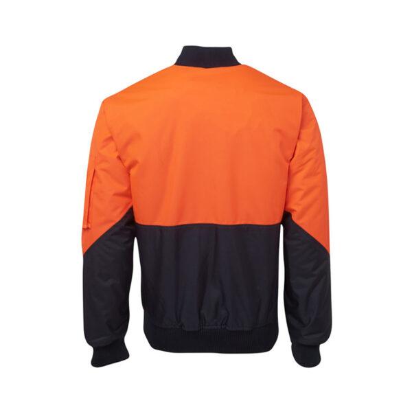 Hi VIs Flying Jacket Back- Orange