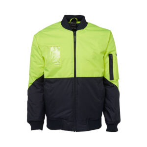 Hi VIs Flying Jacket - Lime
