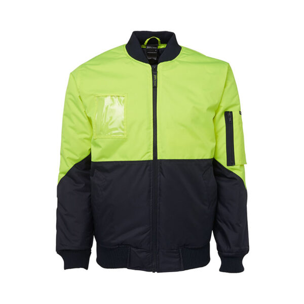 Hi VIs Flying Jacket - Lime