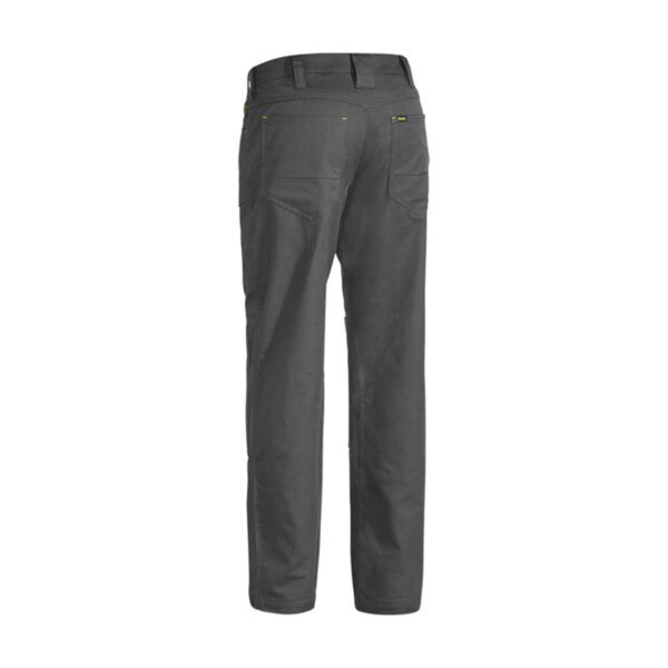 X Airflow Ripstop Vented Work Pant Back- Charcoal