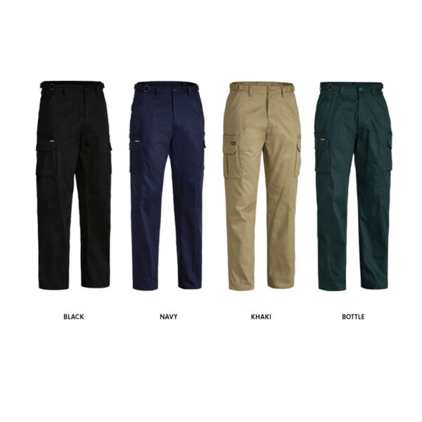 Bisley Original 8 Pocket Cargo Pant - Assorted Colours