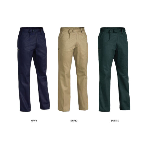 Bisley Original Drill Work Pant - Assorted Colours