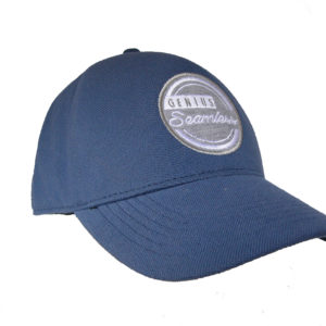 Decorated Seamless Cap - Dusty Blue