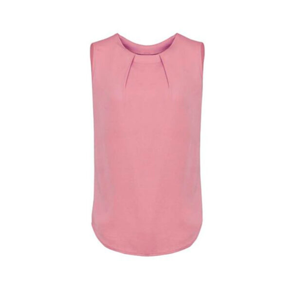 Estelle Pleat Blouse - Dusty Rose