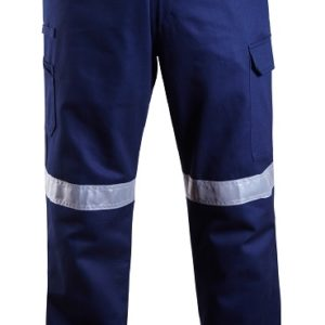 Lightweight Taped Cargo Trouser - Navy
