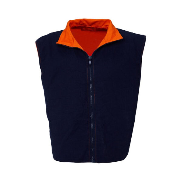 4 in 1 Taped Jacket - Orange/Navy