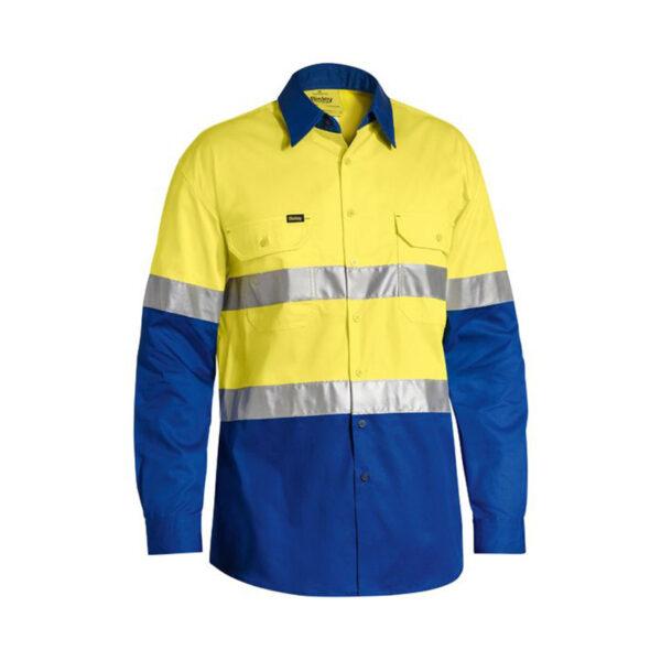 Bisley Hi Vis Lightweight - Yellow/Royal