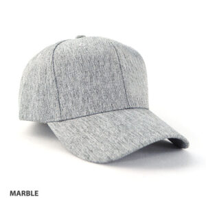 JK Heathered Cap - Marble