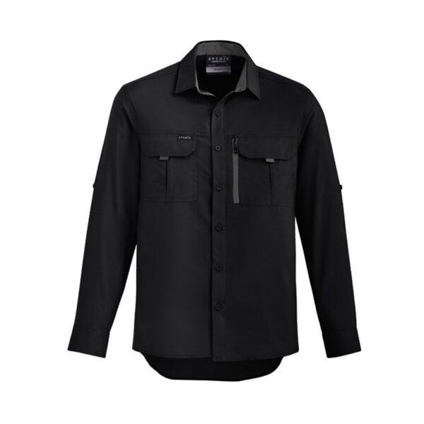 Outdoor Long Sleeve Shirt - Black