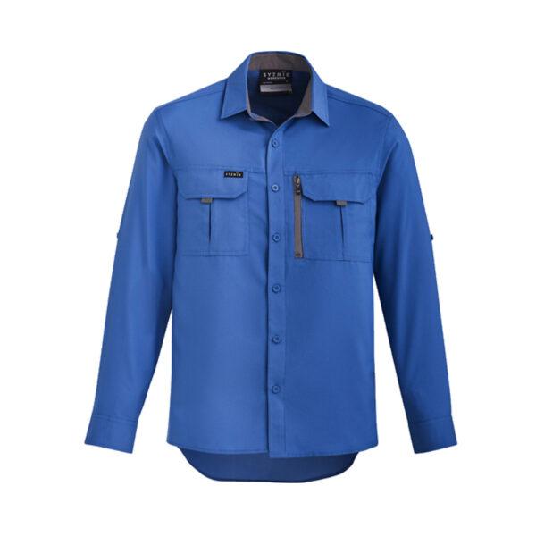 Outdoor Long Sleeve Shirt - Blue
