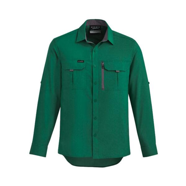 Outdoor Long Sleeve Shirt - Green