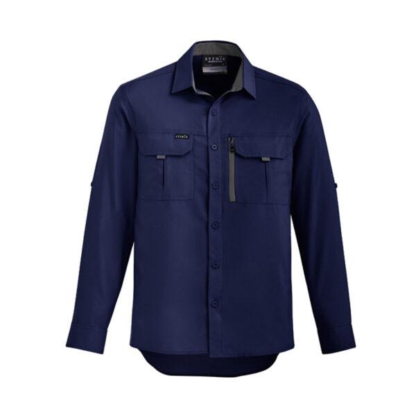 Outdoor Long Sleeve Shirt - Navy