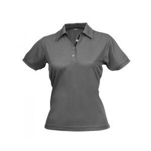 Ladies Superdry Polo - Grey
