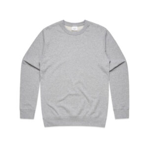 AS Colour Premium Crew - Grey Marle