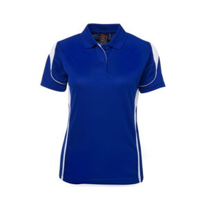 Bell Polo Ladies - Royal/White-7Bel