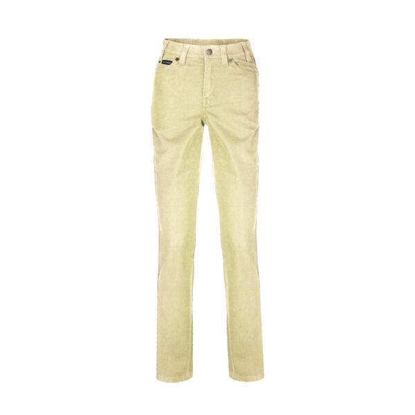 Pilbara Ladies Cotton Stretch Jeans - Wheat