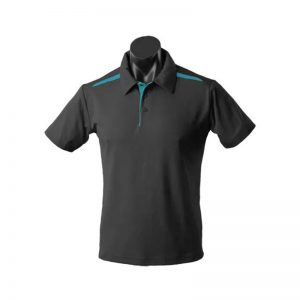 Paterson Polo - BlackTeal